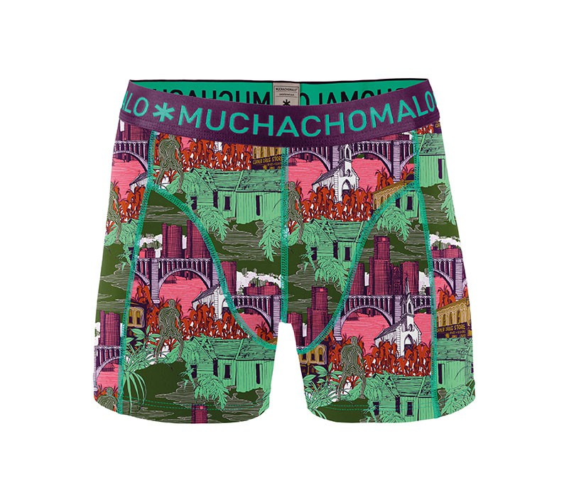 Muchachomalo Muchachomalo-Men's-Under-Shorts-Cotton-BAND1-XL
