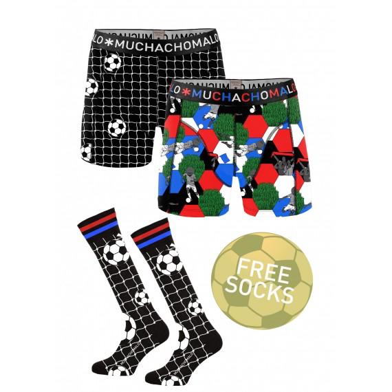 Muchachomalo Muchachomalo-Men's-Under-Shorts-Cotton-SOCCER-S