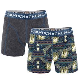 Muchachomalo Muchachomalo-Men's-Under-Shorts-Cotton 2 pack, NEVER2, S
