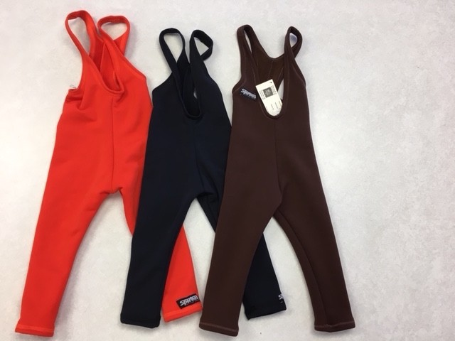 Sportees Sportees Children-4 Way Stretch Fleece Fitted Tights w/ Bib