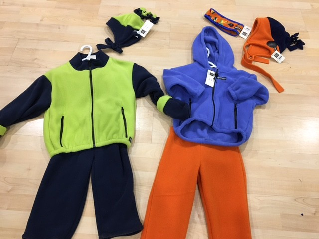 Sportees Children- 200 Weight Fleece Bulky Jacket