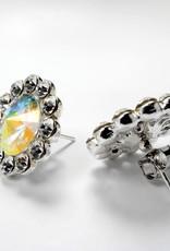 Dance Jewelery Flower Stud Earings