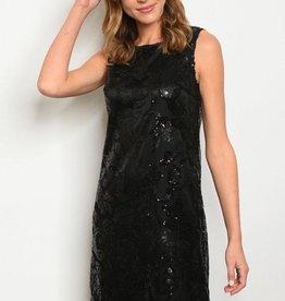 Moon Sequin Dress