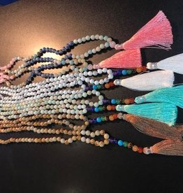 Stone Mala Necklaces