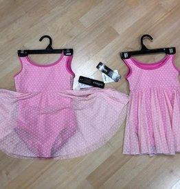So Danca So Danca Leotard/Bodysuit with overlay dress