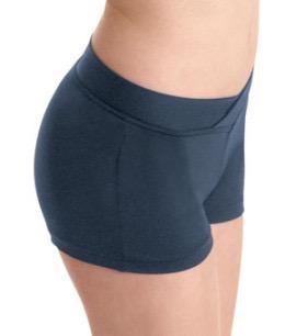 Bloch V-front waist dance short