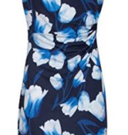 Smashed Lemon Smashed Lemon 18031-03 Blue Tulip Dress ON SALE !!, BLUE, XL/42