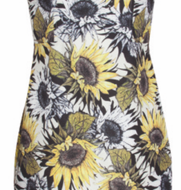 Smashed Lemon Smashed Lemon S17407 Sunflower Dress ON SALE !!, SUNFLOWER, S