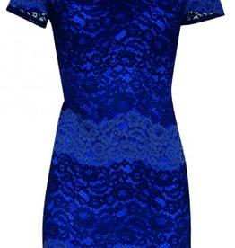 Smashed Lemon Smashed Lemon 18093-03 Blues Lace Dress  ON SALE !!, BLUES, M/38