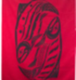 Chloe Angus Designs Chloe Angus Spirit Blanket -ON SALE !!, RED SALMON, 0/S