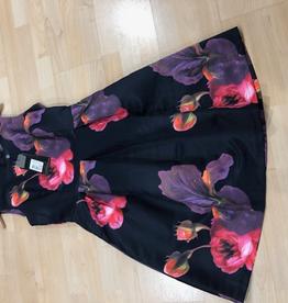 Smashed Lemon Smashed Lemon Floral Dress  ON SALE !!, PURPLE, M