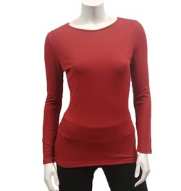 Gilmour Gilmour Modal Rib Knit Top