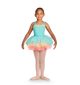 Bloch Bloch Childrens Gelato Three Colour Tutu Skirt