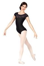 So Danca SL17 So Danca Girls Lace Cap Sleeve Leotard