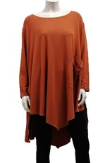 Gilmour Bamboo Tunic with 2 front stylish pockets.