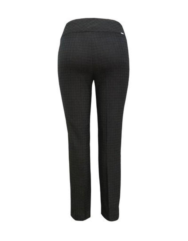 Up Pants 66798 Black Lines Jacquard Pants 28 inseam