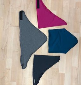Sportees Triangle Face Protection Scarf Mask Velcro Closure