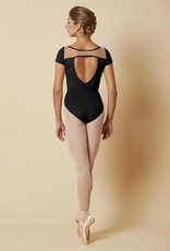 Bloch Mirella Wide Neck w/ Mesh Leotard