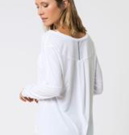 MPG MPG Chia 2.0 Warrior Knit Stink-Free Drape Top, WHITE, M - - on sale ! !