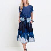 ELK Elk Water Print Skirt ON  SALE !!, WATER PRINT, S/M