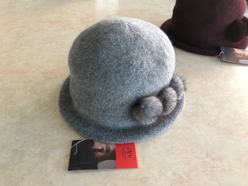 Canadian Hat Company Ltd. 100% Wool with Mink Trim