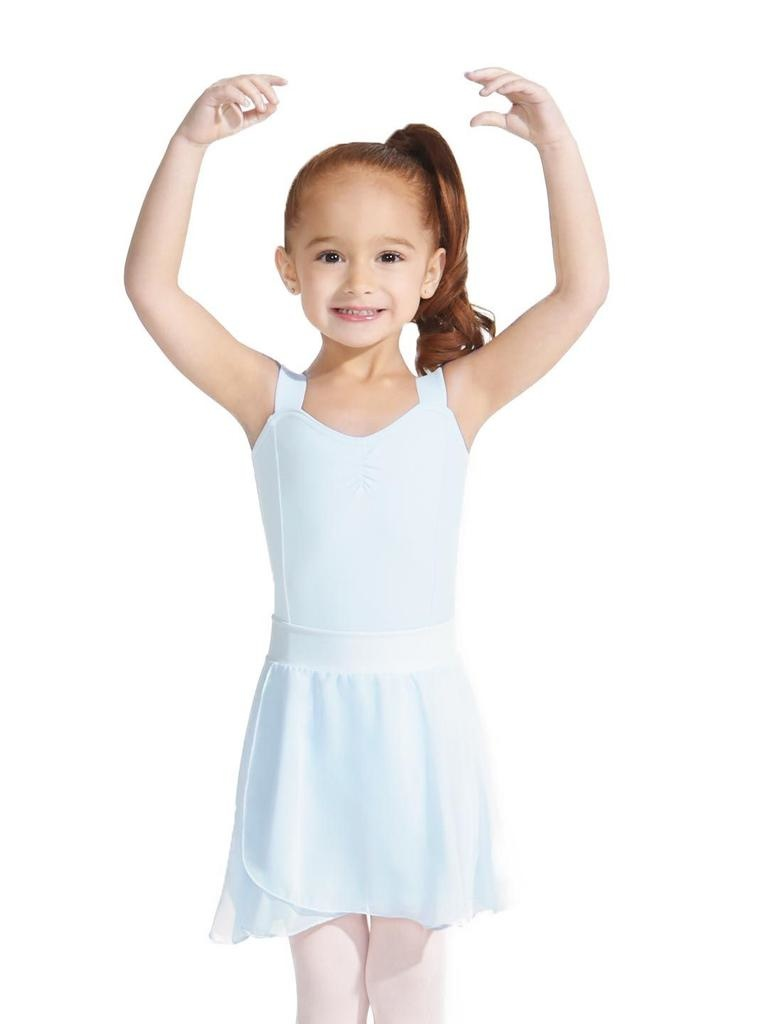 """Capezio Style icon, Coco Chanel knew best when she said, """"Simplicity is the key note of all true elegance."""" This reigns true when your dancer wears the Pull-On Skirt made of silky chiffon. Features a soft, pull on waistband that stays in place during every routin"""