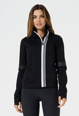 MPG MPG MPGXXS7L014 Octave Run Jacket Women's, BLACK, M