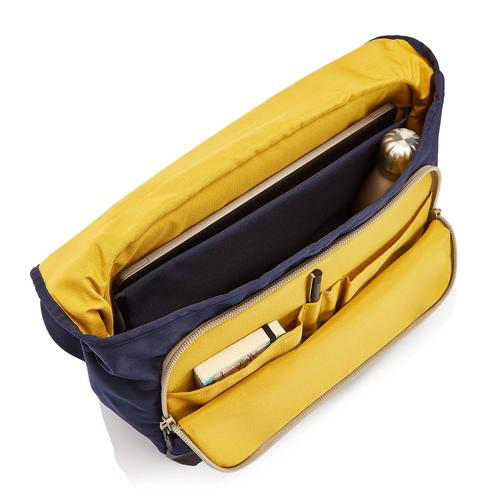 "Crumpler 11.6L of storage<br /> 13"" external laptop sleeve<br /> 6 seperate storage compartments including front pocket mini-office<br /> Padded top handle and padded intergrated shoulder strap<br /> Velcro and buckled main compartment closure<br /> Removable third leg strap<br /> Weatherproof"