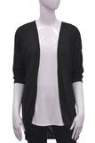 Chloe Angus 6031 Cocoon Cardigan ON SALE !!, SOLID WHITE, S