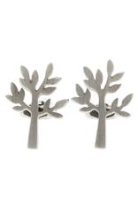 ELK Mr Elk Silver CufflinksMr Elk Silver Cufflinks, TREE, SILVER