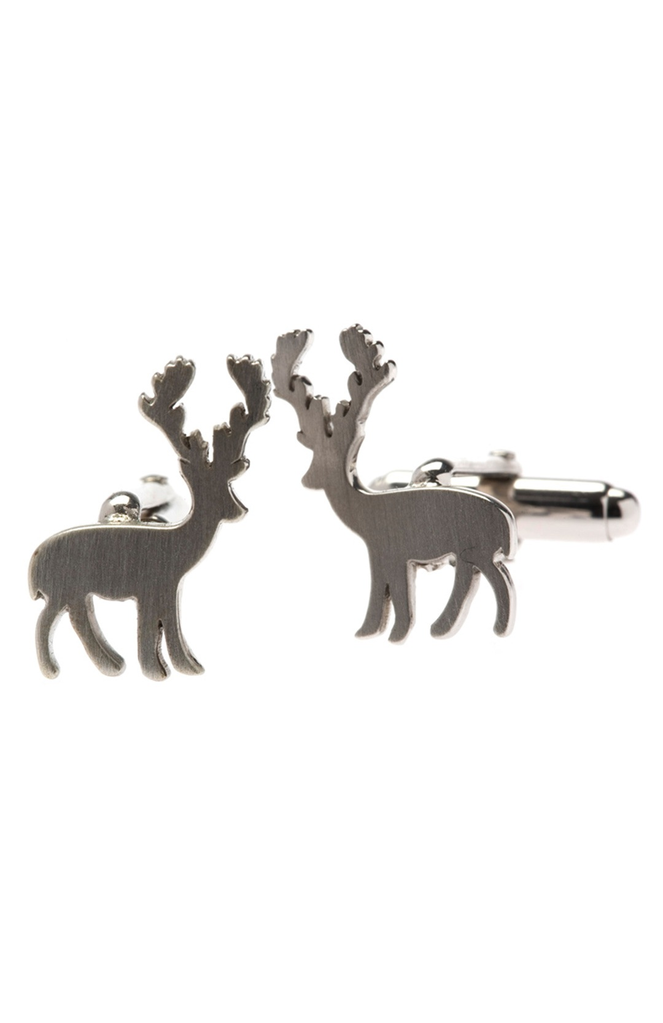 ELK Mr Elk Silver CufflinksMr Elk Silver Cufflinks, ELK, SILVER