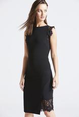 Angel Eye Angeleye U10795 Trinity Little Black Dress, BLACK, M