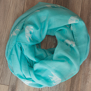 100% Polyester<br /> Oversized Infinity Scarf<br /> 35″ W x 70″ L