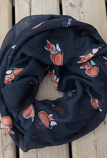 Robbie Craig 100% Polyester<br /> Oversized Infinity Scarf<br /> 35″ W x 70″ L
