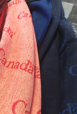 Canada Scarf, LIGHT RED, 0/S