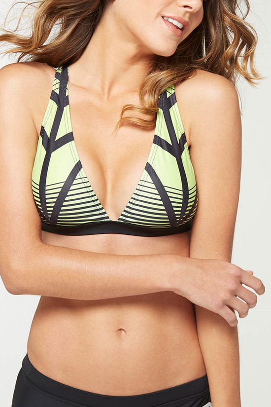 MPG MPG MPGSWS6T24 Lucy Bikini Top - ON SALE!!, ECLIPSE PRINT, XS