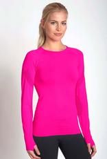 MPG MPG MPGXXS6LT29 Unify Long Sleeve Workout Shirt Womens, SURFWAX, XS/S
