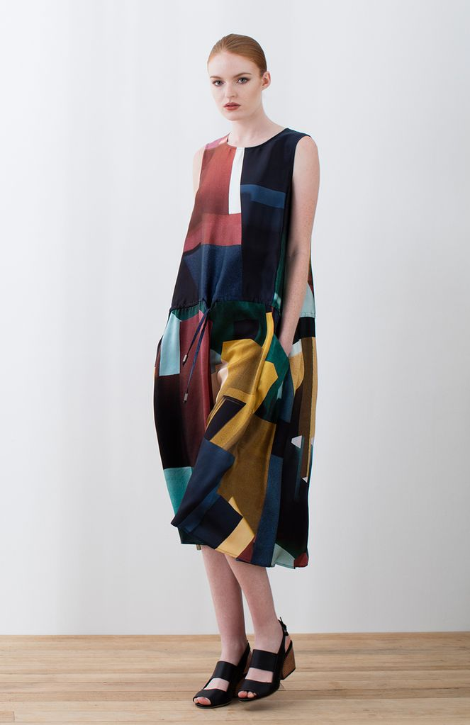 ELK Elk Muralla Silk Dress