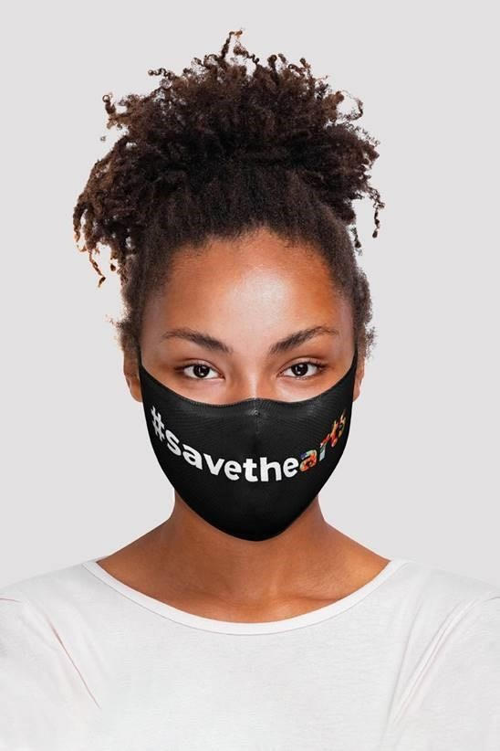 Bloch Save The Arts Face Mask