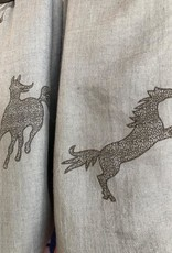 Ancient Horse Infinity Scarves