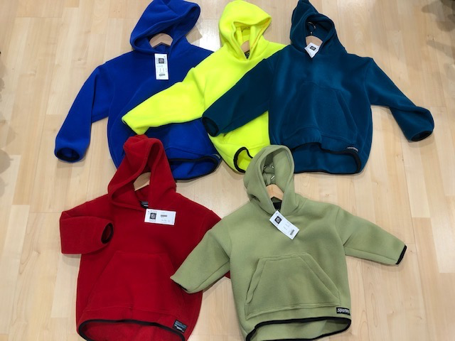 Sportees Child Fleece Hoodie Jacket with Kanga Pocket - Pullover