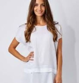 Vigorella Vigorella VL020 Top With Knit Hem