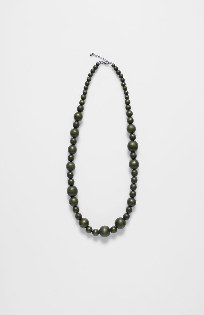 ELK Elk Loden Single Strand Bauble Necklace
