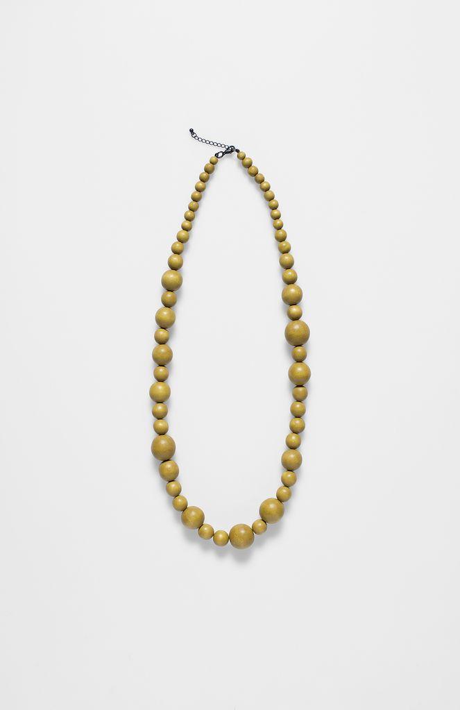 ELK Elk Sulphur Single Strand Bauble Necklace