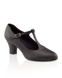 Capezio Capezio T-Strap Shoe