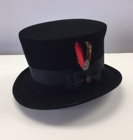 Canadian Hat Company Ltd. Canadian Hat Ultima Colette Black Felt Top Hat