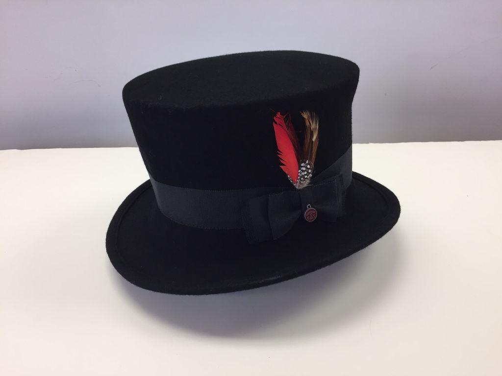 Canadian Hat Company Ltd. Canadian Hat Ultima Colette Black Felt Top Hat