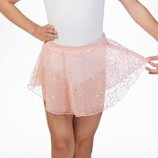 Bloch Mirella Butterfly Uneven Hem Skirt