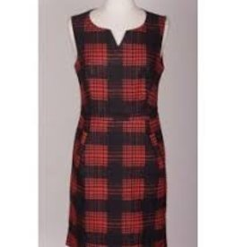 Smashed Lemon L17728-Smashed Lemon Plaid Dress ON SALE !!