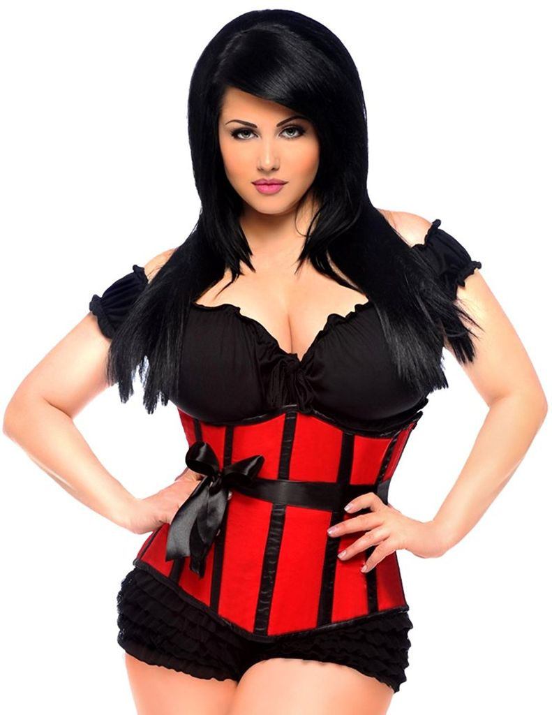 Daisy Corsets Heavy steel underbust corset, very well made.